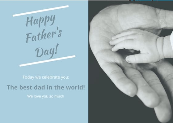 Happy father's day best dad in the world card via hispanaglobal.net