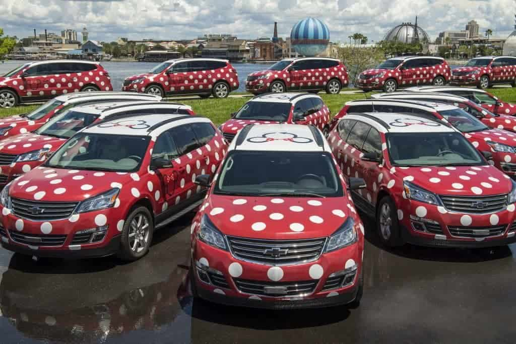 New Minnie vans transportation service at Walt Disney World