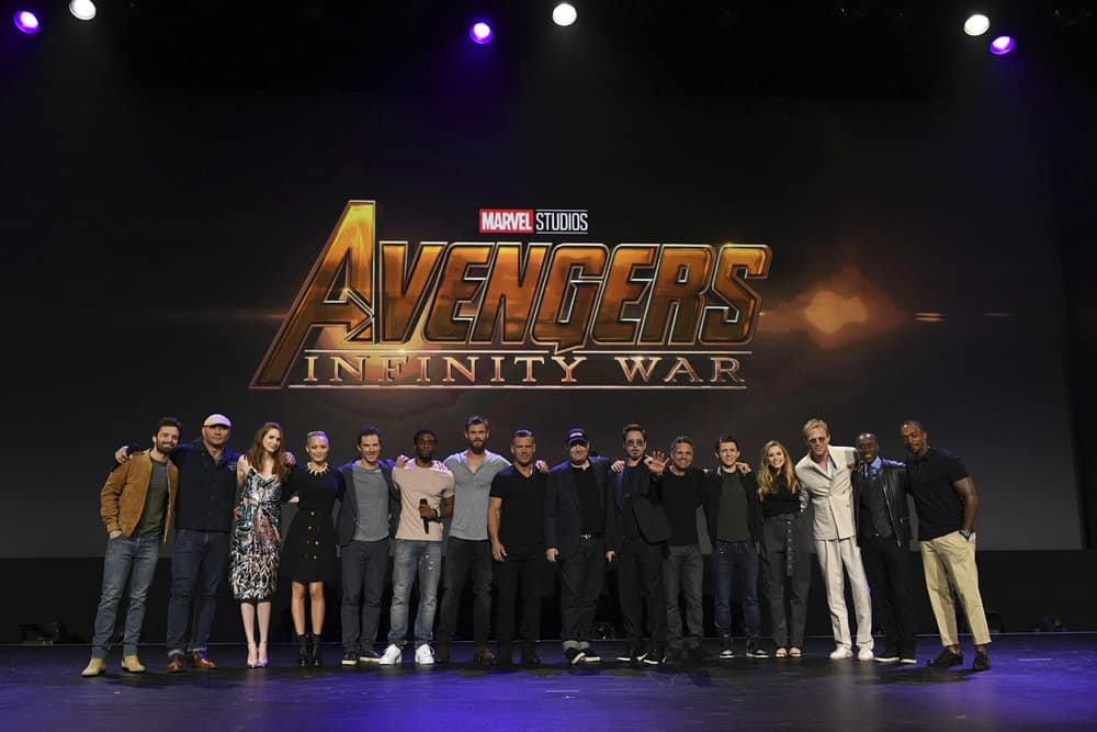 Avengers Infinity War stars take the stage at D23 Expo