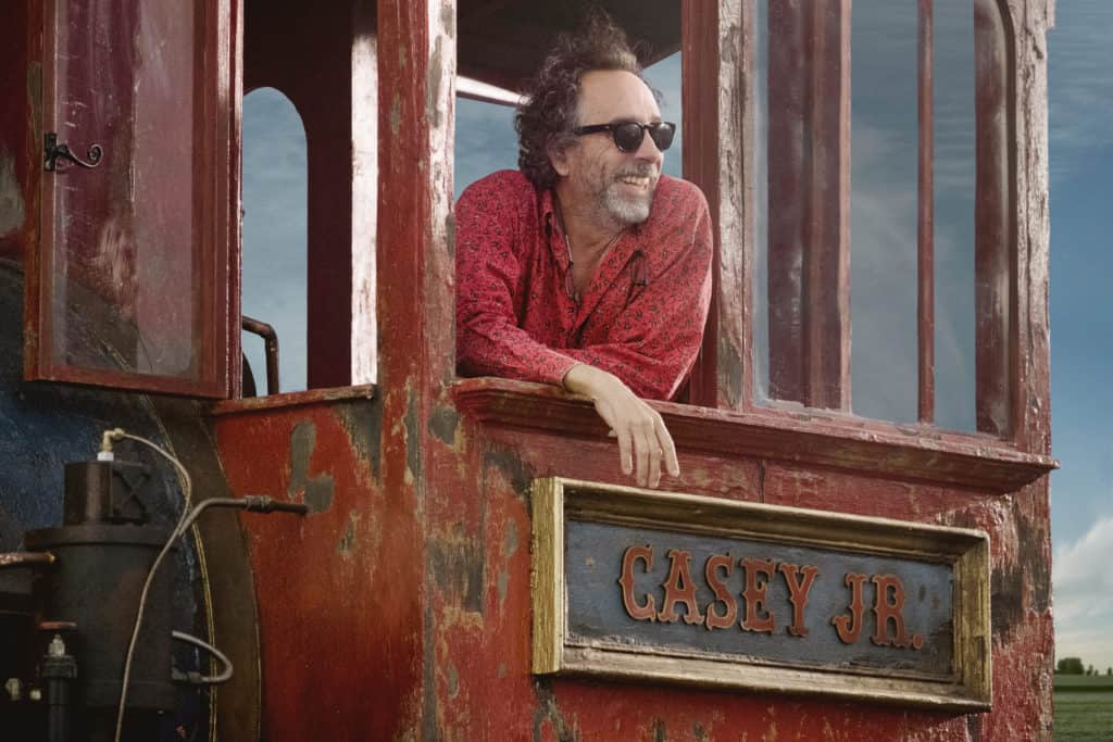 Tim Burton will direct the new live action film Dumbo