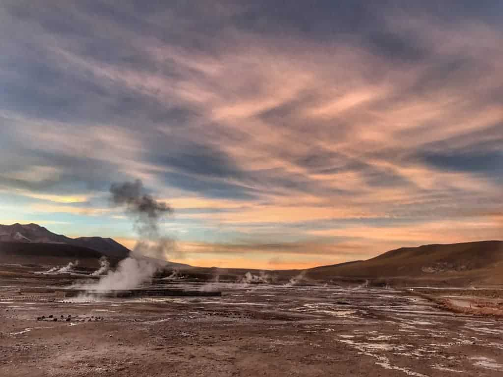 El Tatio geyser / San Pedro de Atacama in Chile by Jeannette Kaplun for hispanaglobal.net