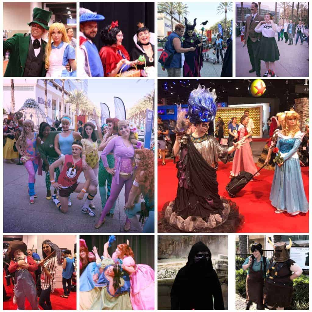 Cosplay D23 Expo 2017