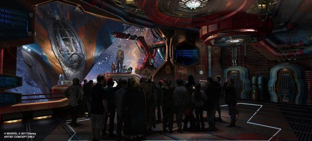 Disney announces new Guardians of the Galaxy ride at Epcot