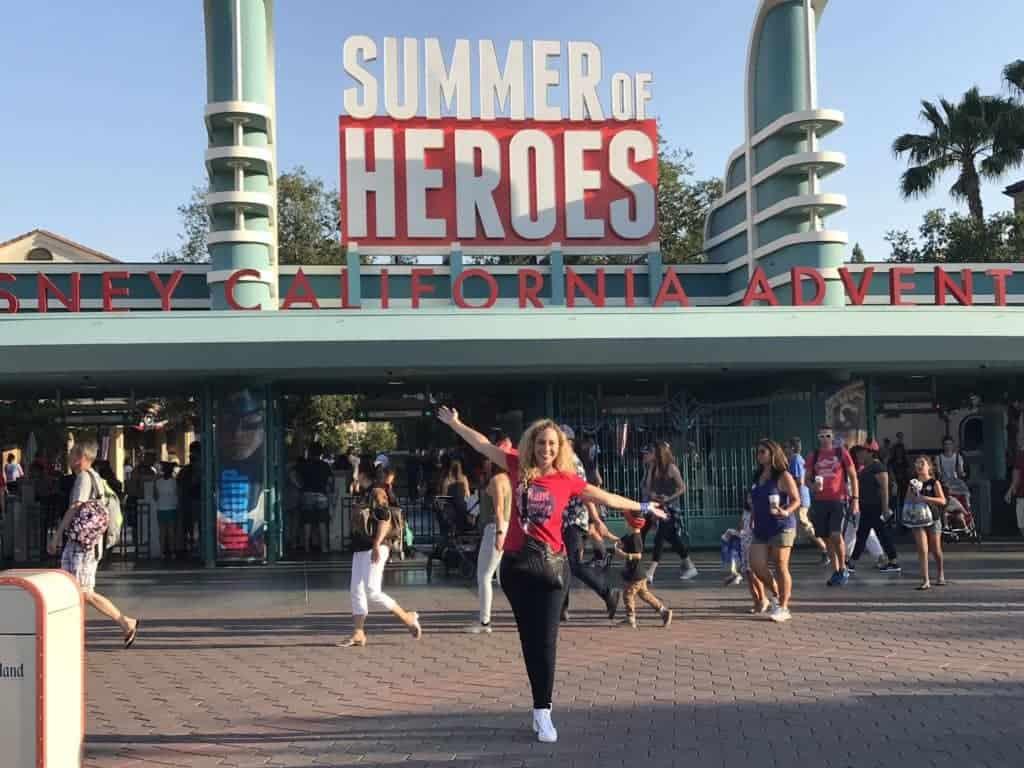 Summer of Heroes at Disney California Adventure