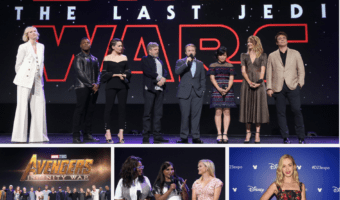 New movies announced by Lucasfilm, Disney Studios and Marvel