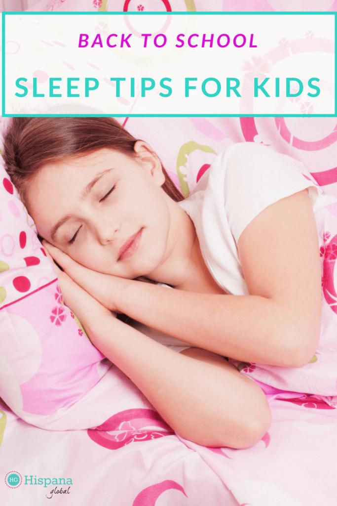 Best back to school sleep tips for children