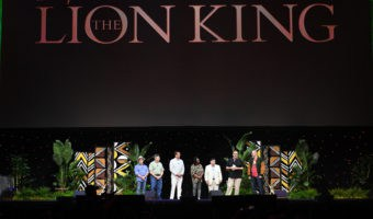 The Lion King panel at D23 Expo
