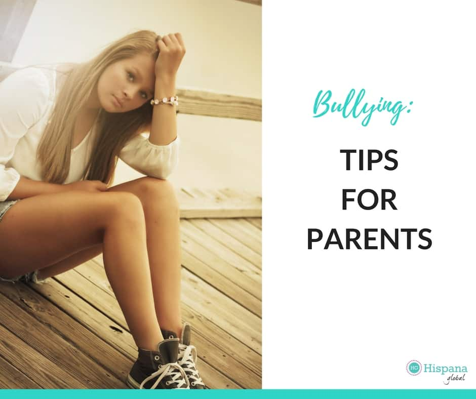 Tips for parents to deal with bullying