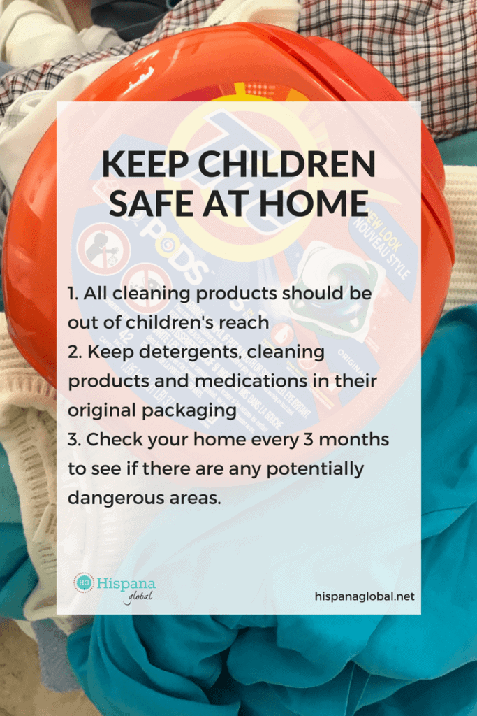 Tips to keep children safe at home