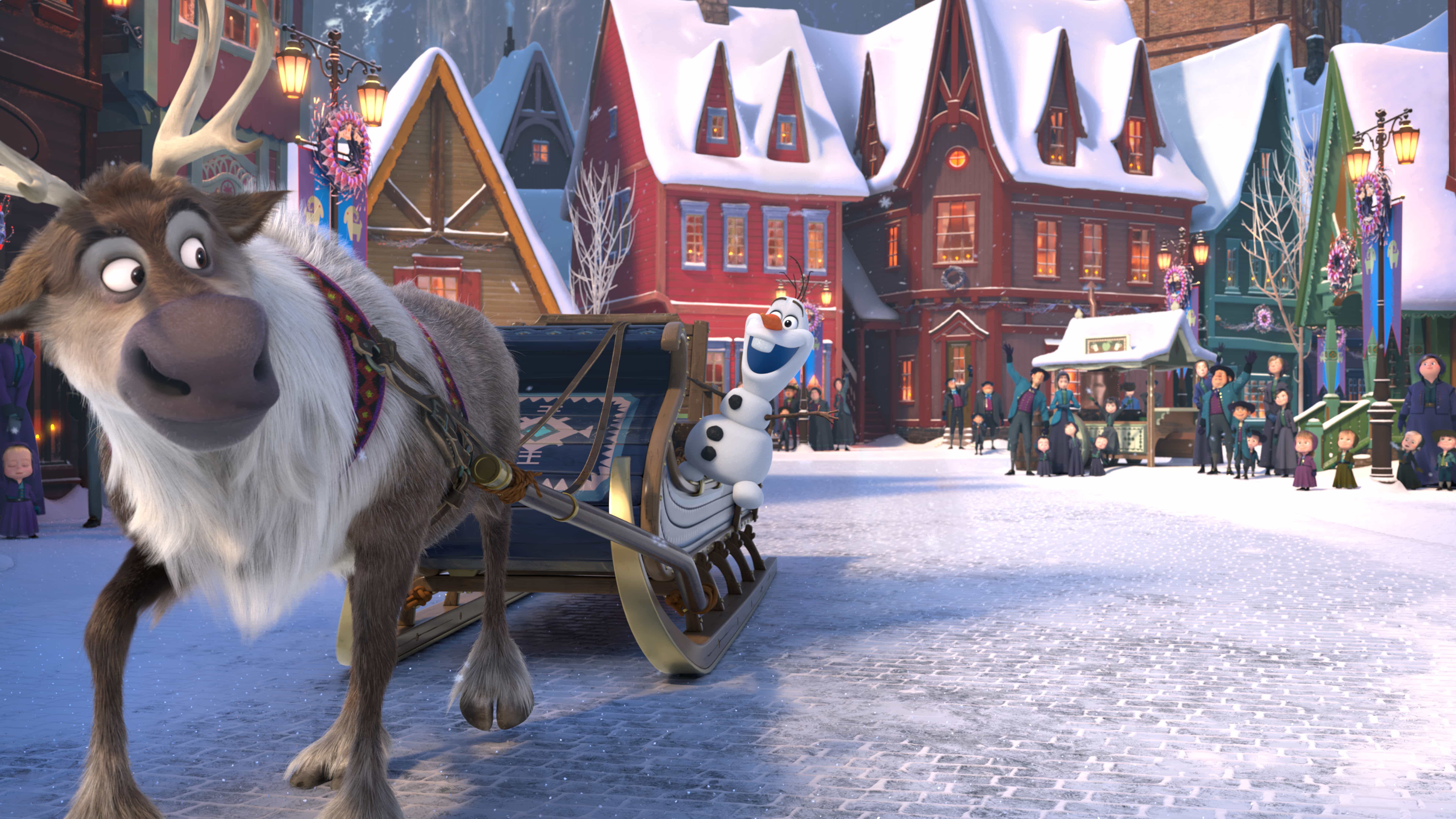 Frozen Coloring Pages Olaf And Sven : 7 cool facts about olaf's frozen adventure hispana global