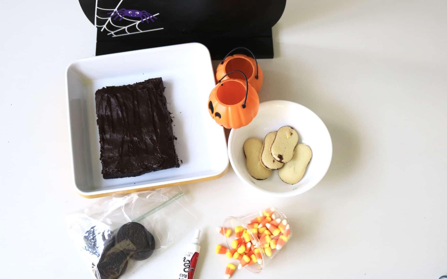 Postre para Halloween: Cómo hacer un cementerio de brownies ...