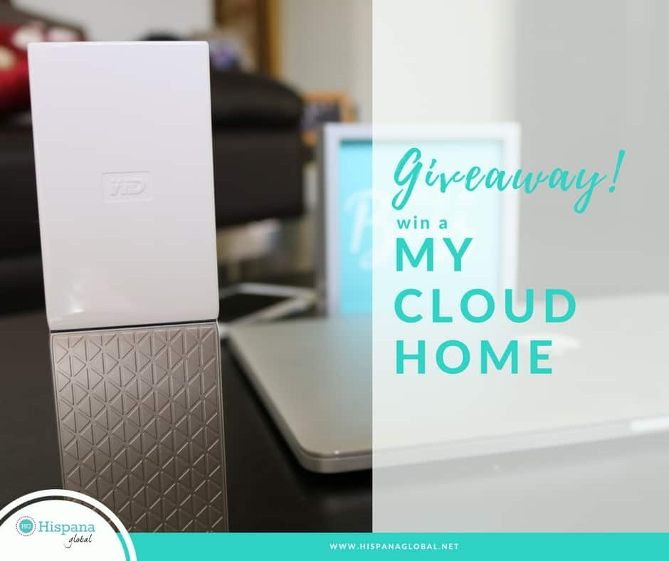 My Cloud Home giveaway