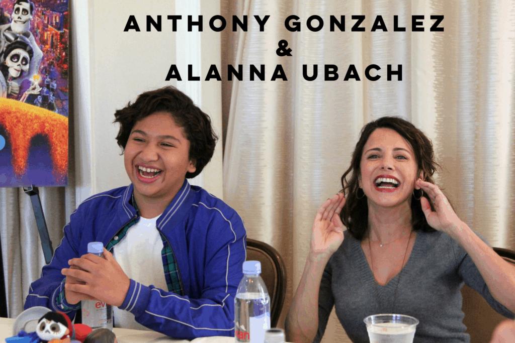 Coco's Anthony Gonzalez and Alanna Ubach