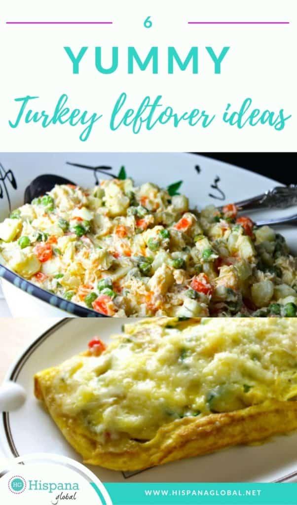 6 yummy turkey leftover ideas