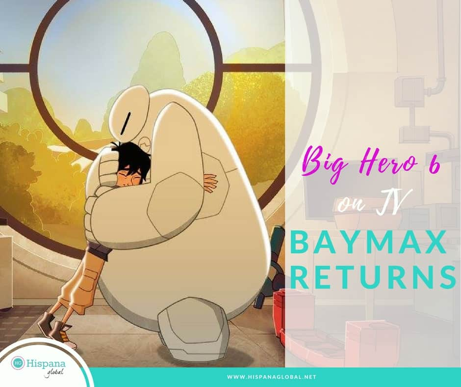 Big Hero 6 is now a television series! The all new Baymax Returns TV movie debuts November 20 on Disney XD and the Disney Channel.