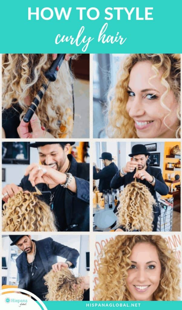 Learning to love, style and define your curls is truly wonderful. A top hairstylist shares his tips so you can define each curl. It's easier than you think!