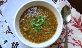 Delicious lentil soup recipe