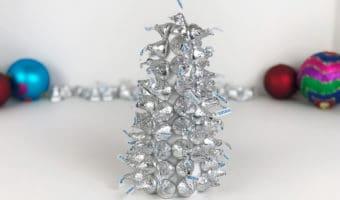 DIY Chocolate Candy Christmas Tree Craft