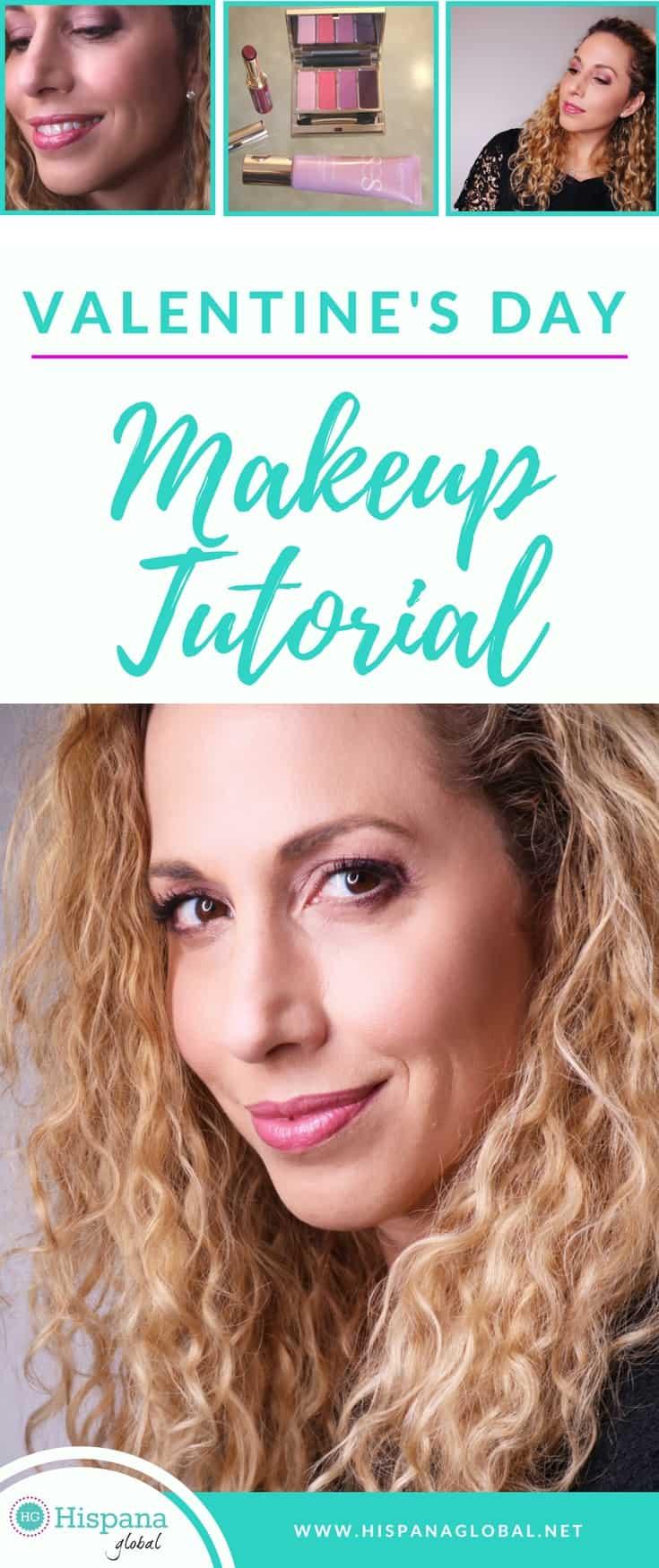 Video valentines day makeup tutorial hispana global valentines day makeup tutorial baditri Gallery