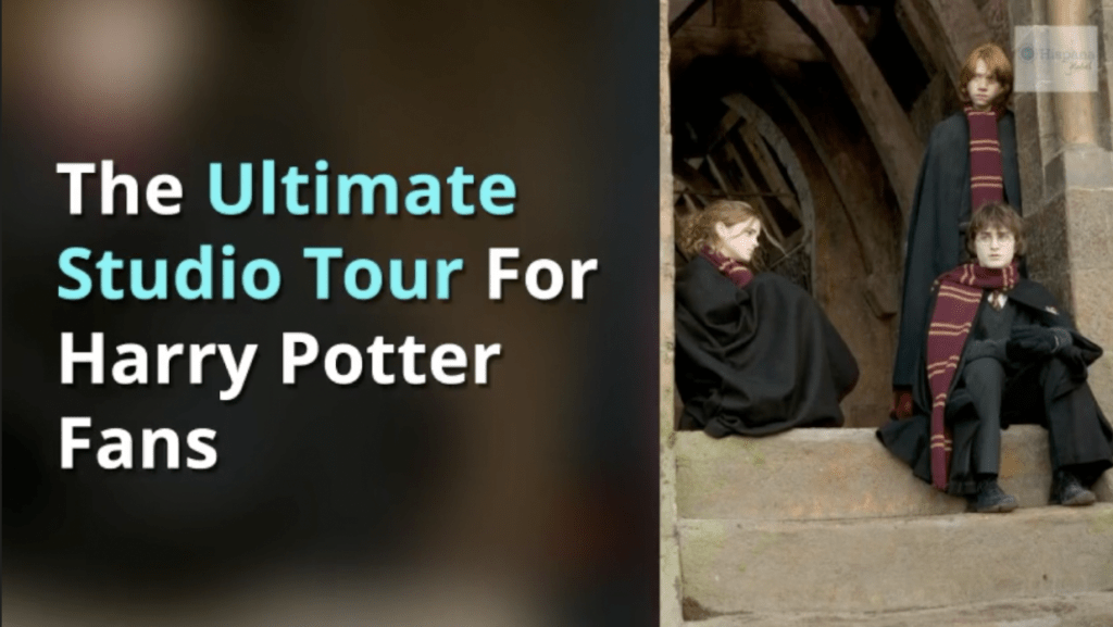 Harry Potter and The Goblet of Fire at Warner Bros Studio Tour