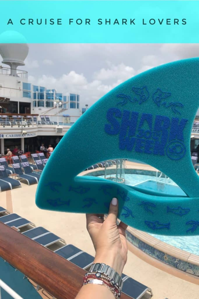 "In celebration of the 30th anniversary of Discovery Channel's Shark Week, Caribbean Princess launched exclusive ""Summer of Shark"" activities."