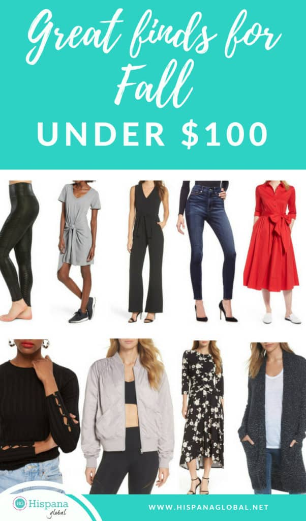 Fall Must-Haves From The Nordstrom Anniversary Sale, All Under $100!
