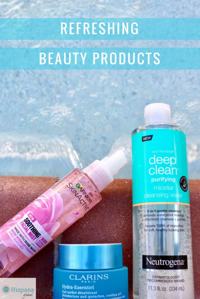 Refreshing beauty products for summer