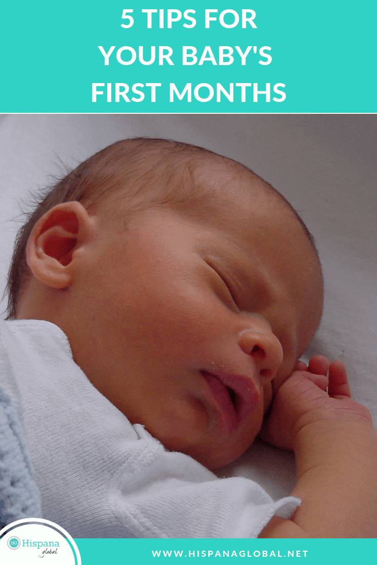 Having a newborn is both exhilarating and exhausting. Here are 5 tips to help you survive those first months after giving birth to your baby.