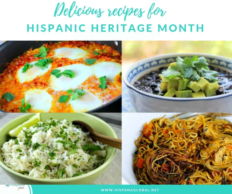 Delicious recipes for Hispanic Heritage Month