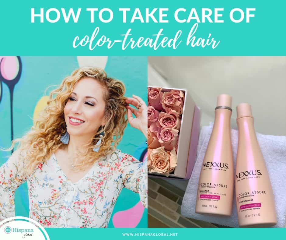 How to take care of color treated hair