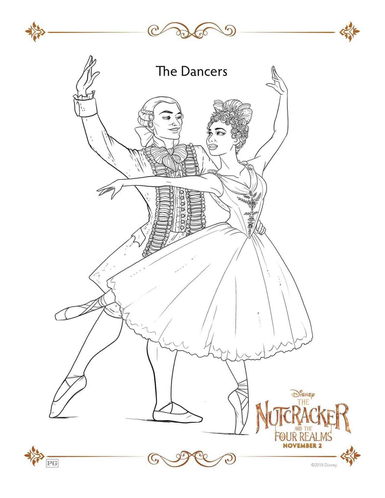 Image result for nutcracker four realms coloring pages