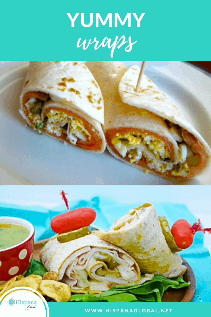 Easy and yummy wraps