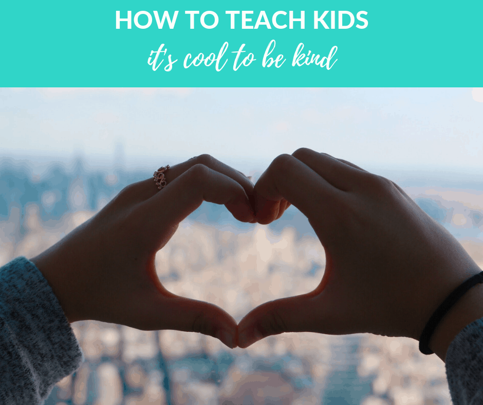 How we can teach kids to be kind
