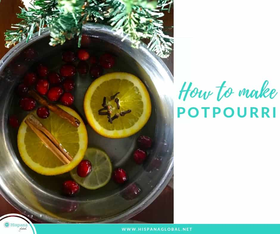 How to make potpourri for the holidays