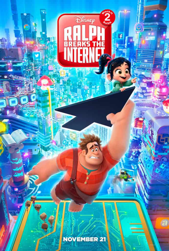 Free Ralph Breaks The Internet Coloring Sheets To Print At