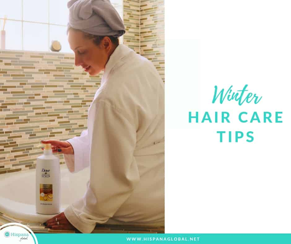 If you tend to suffer from dryness, itchiness and flakiness, especially in the winter, here are three simple hair care tips.