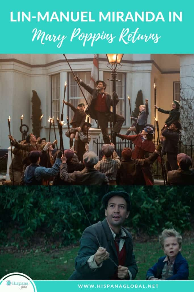 Award-winning and multi-talented Lin-Manuel Miranda shares the inspiration behind his Mary Poppins Returns character, plus cool facts about the movie.
