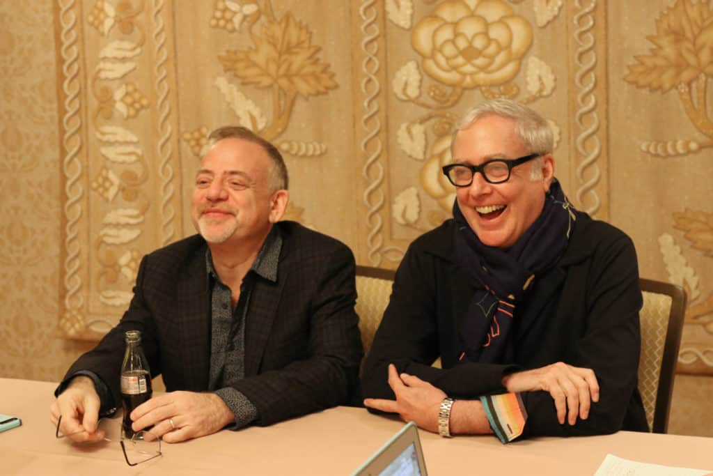 Marc Shaiman and Scott Wittman composed the music of Mary Poppins Returns