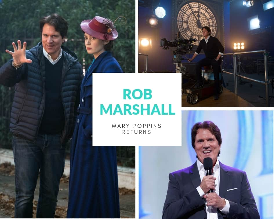Rob Marshall, director of Mary Poppins Returns, shares a few easter eggs and behind-the-scenes tidbits about Disney's newest movie.
