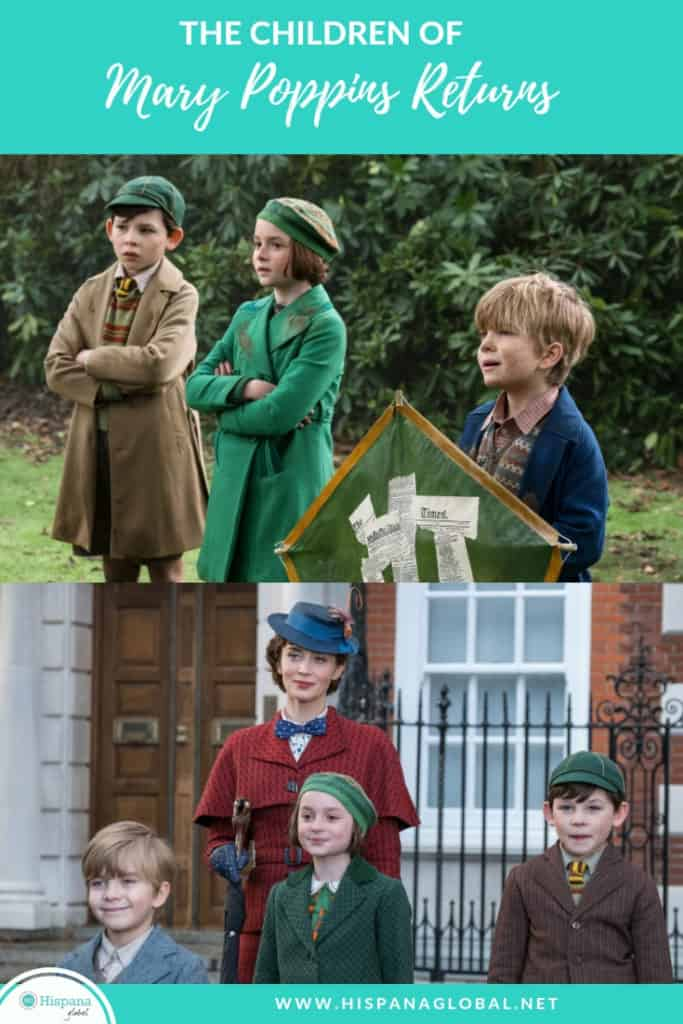 Get to know Pixie Davies and Joel Dawson,  the children who star in Mary Poppins Returns