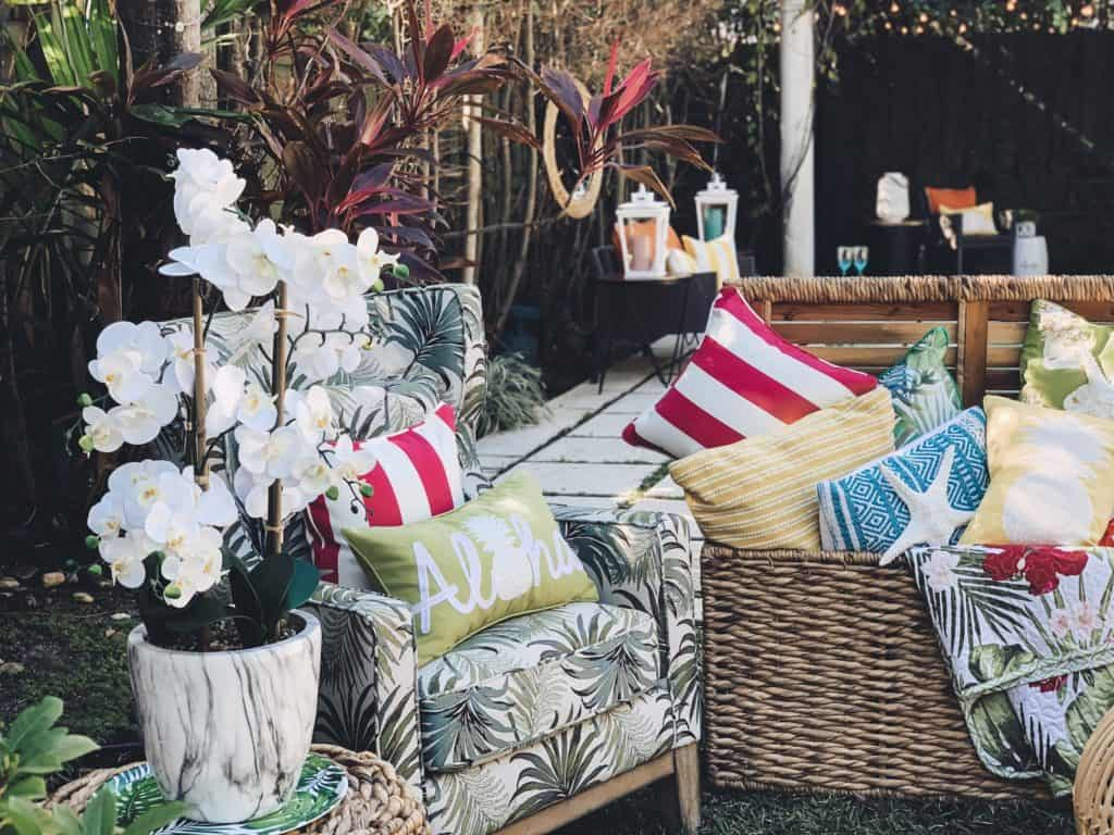 Affordable home decor for your patio