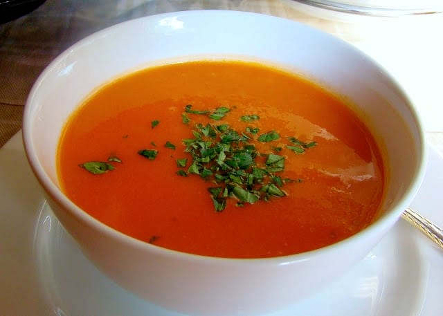 Tomato and rice soup recipe that can be prepared in 30 minutes or less