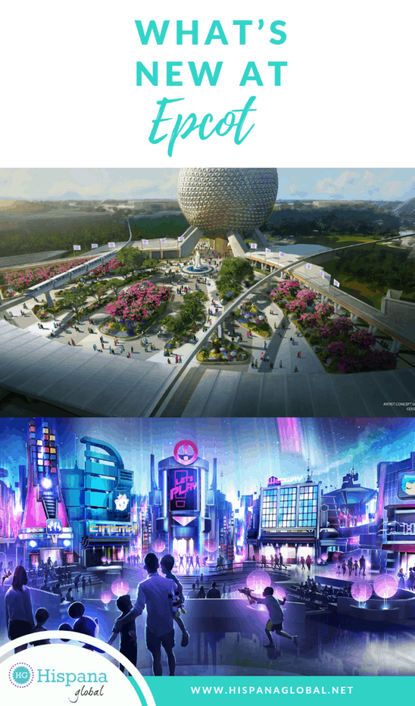 All the details about Epcot's magical makeover