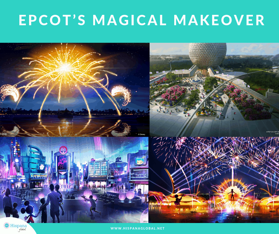 Epcot's magical makeover details