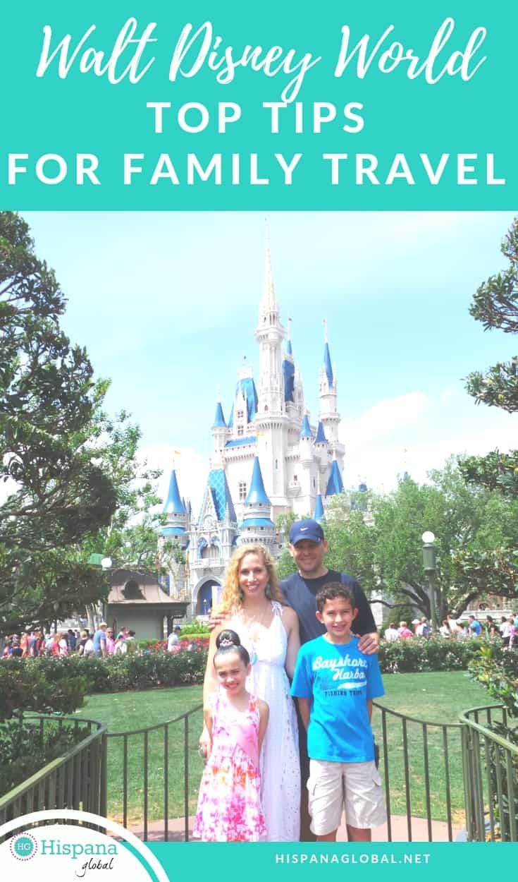 Top tips if you travel to Walt Disney World with your family