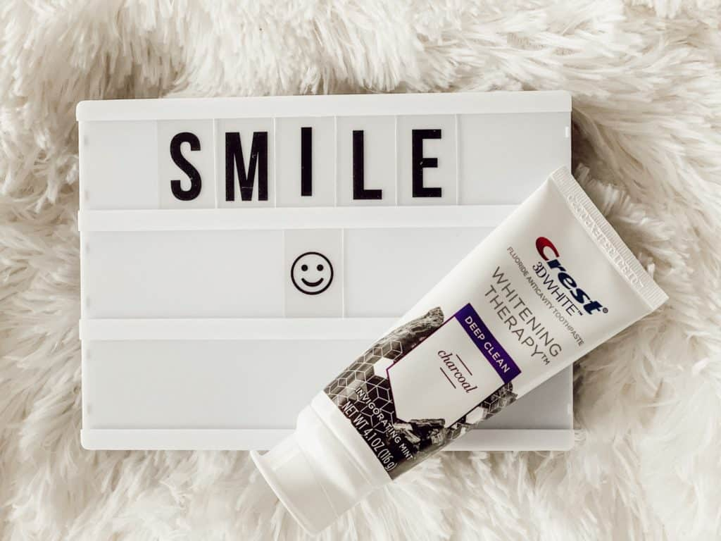 Make teeth whiter with Crest Whitening Therapy