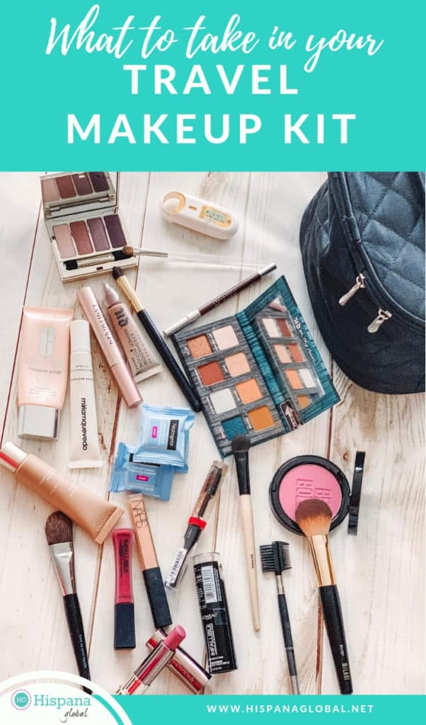 If you want to look your best during your trip but without overpacking, here are the 15 items your travel makeup kit should include. The rest is optional!