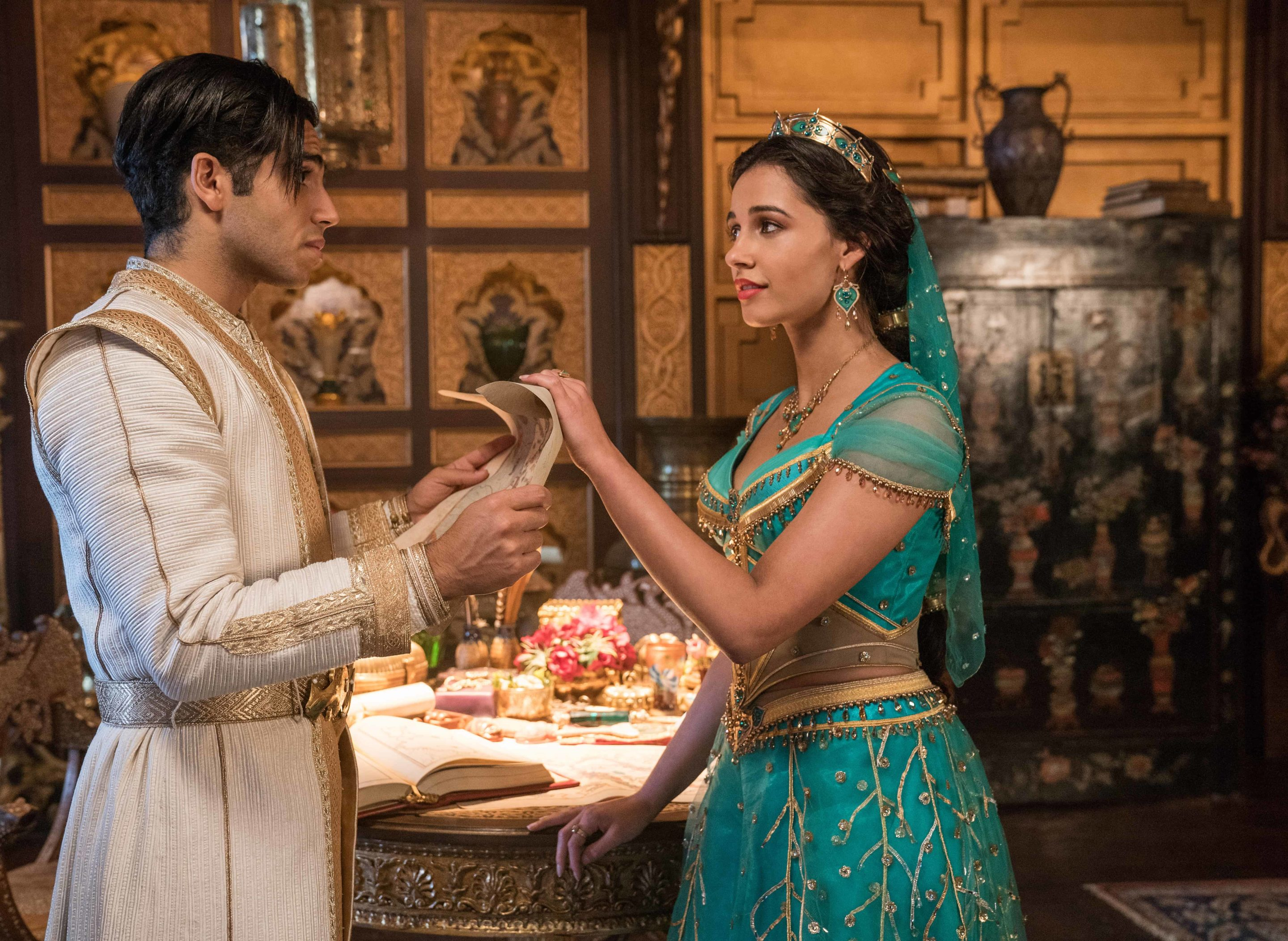Naomi Scott as Jasmine in Aladdin
