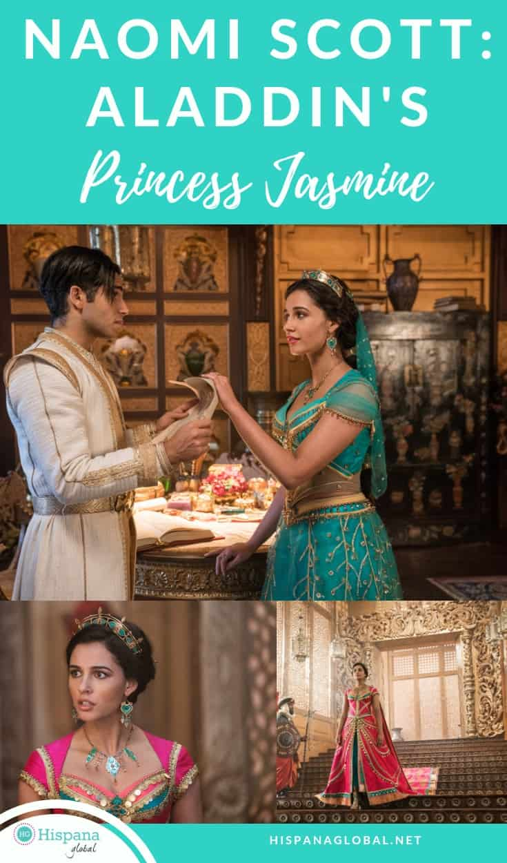 Naomi Scott delivers a powerful performance in Disney's Aladdin and makes Princess Jasmine modern and inspiring. Here's why.