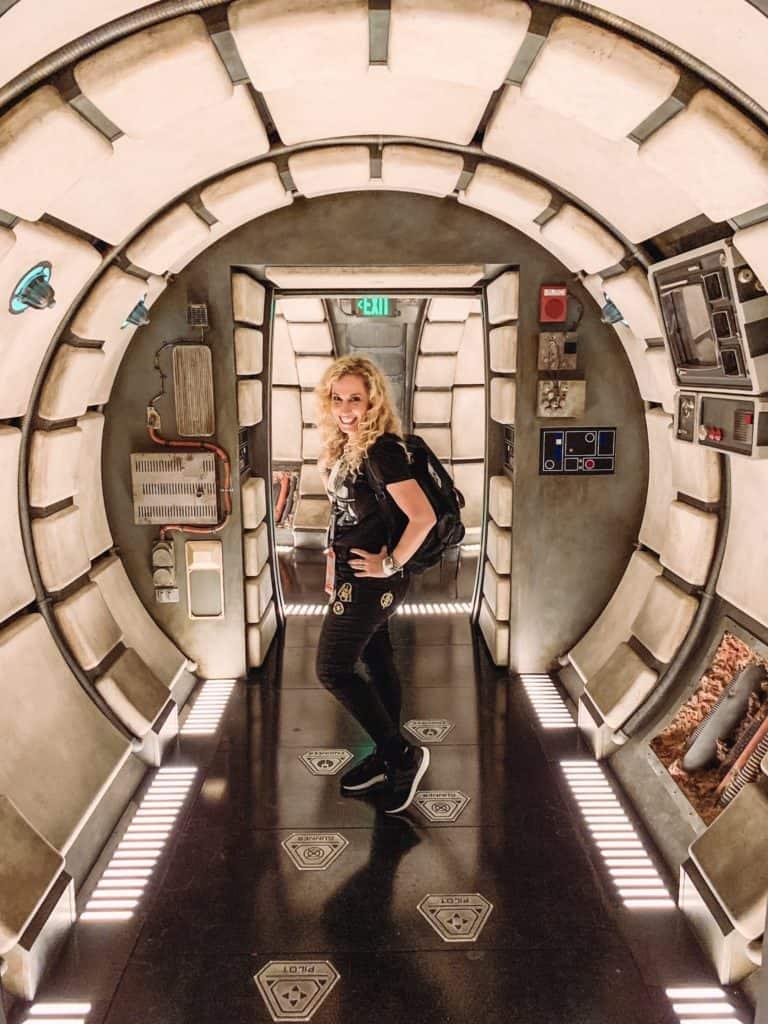 Jeannette Kaplun Smuggler Run Galaxy's Edge